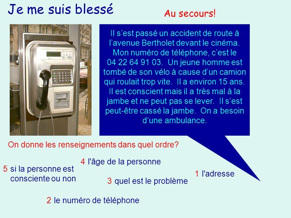 Un accident Un accident sest passé hier vers 15h à Lans en Vercors, près de Grenoble.
