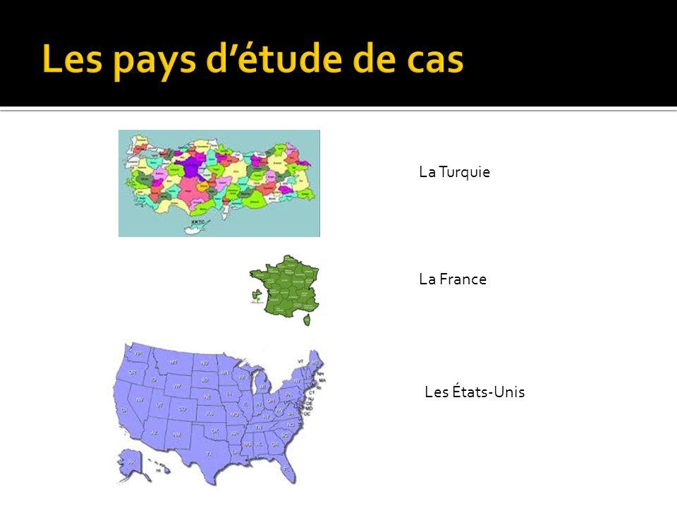 La Turquie La France Les États-Unis