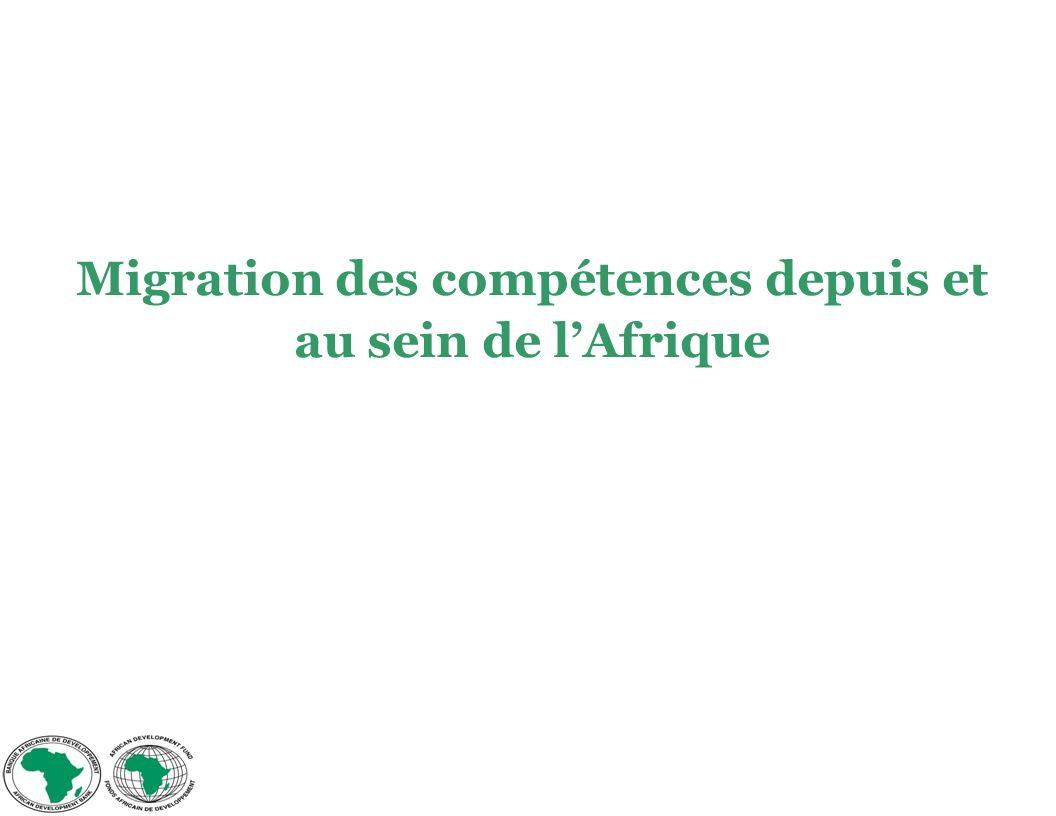 Migration des compétences depuis et au sein de lAfrique