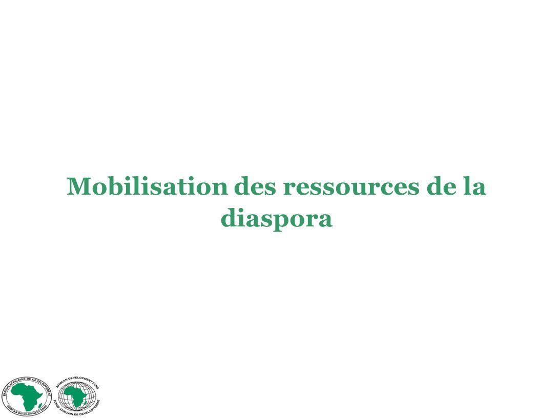 Mobilisation des ressources de la diaspora
