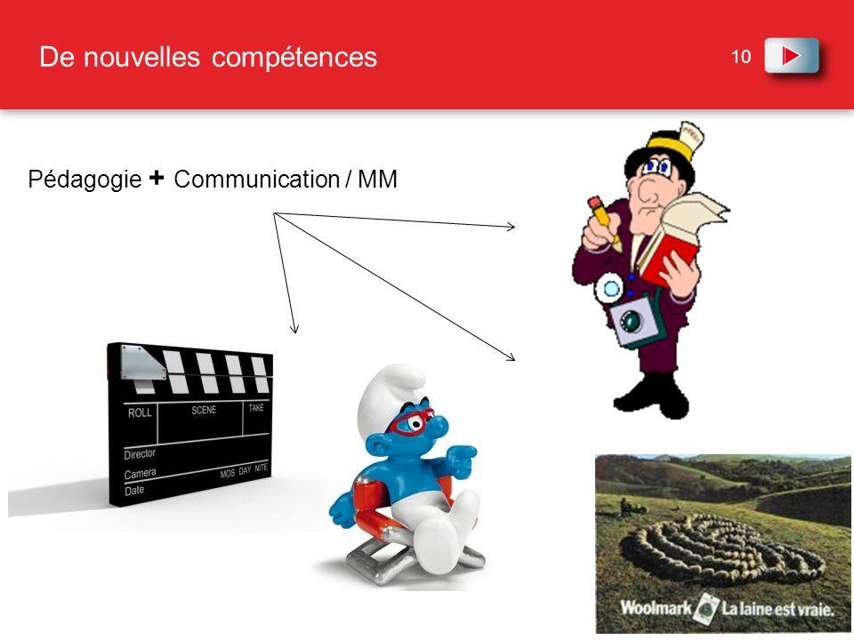 10 De nouvelles compétences Pédagogie + Communication / MM