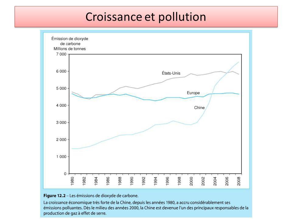 Croissance et pollution