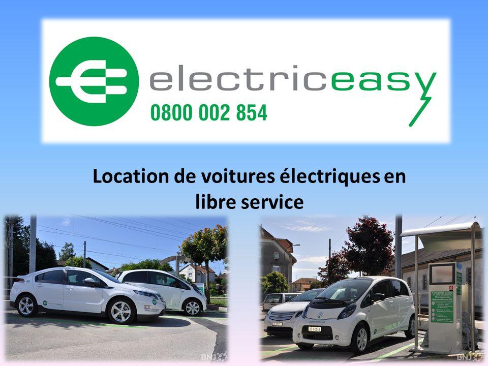Location de voitures électriques en libre service