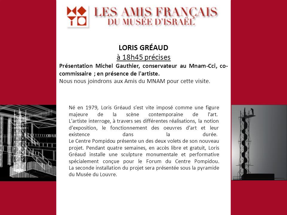 Né en 1979, Loris Gréaud sest vite imposé comme une figure majeure de la scène contemporaine de lart.