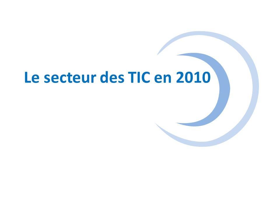 Le secteur des TIC en 2010