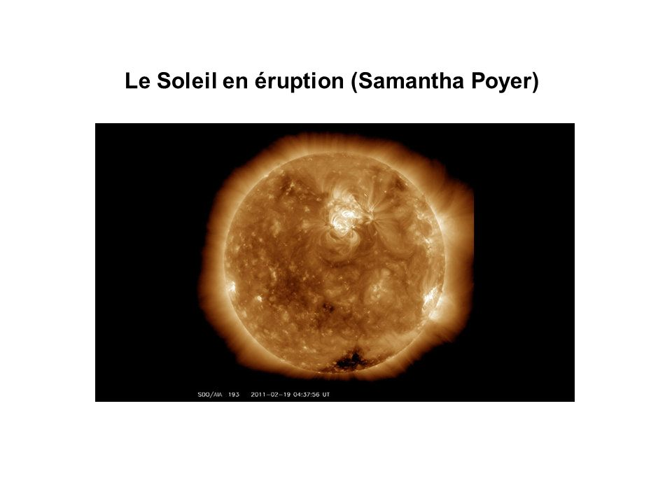 Le Soleil en éruption (Samantha Poyer)
