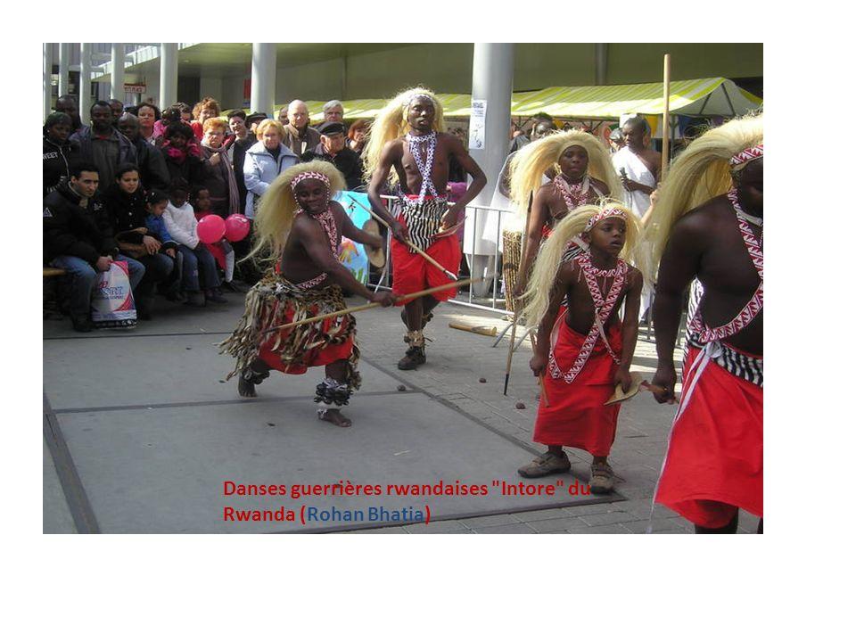 Danses guerrières rwandaises