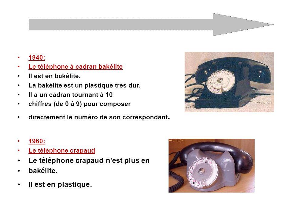 1970: les téléphones à cadran sont en couleur.