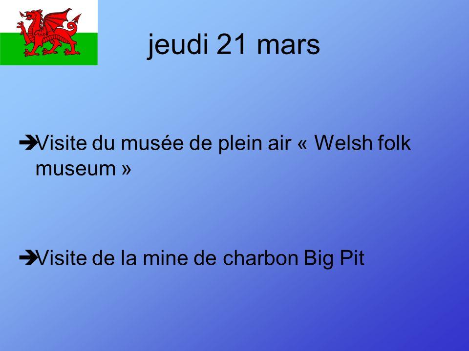 Vendredi 22 mars Départ de Cardiff pour Portsmouth 14h30: départ du ferry 21h 30: arrivée du ferry à Ouistreham 23h00: arrivée au collègecollège