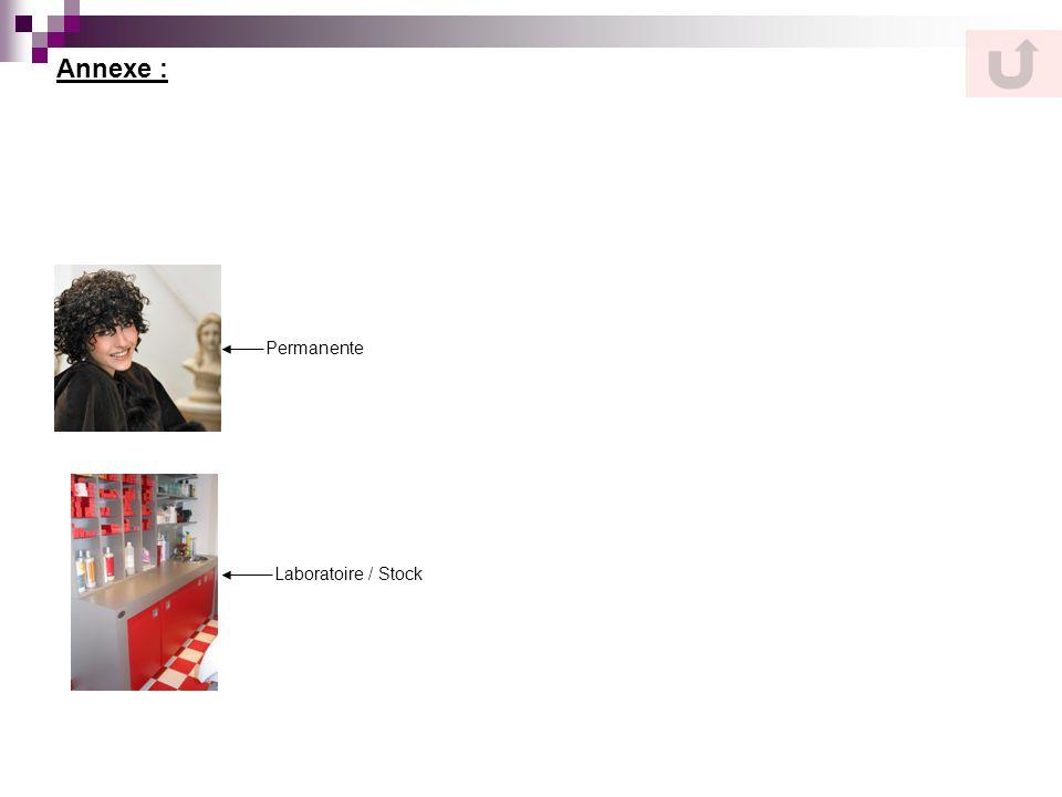 Annexe : Permanente Laboratoire / Stock