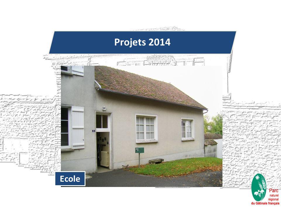 Projets 2014 Ecole