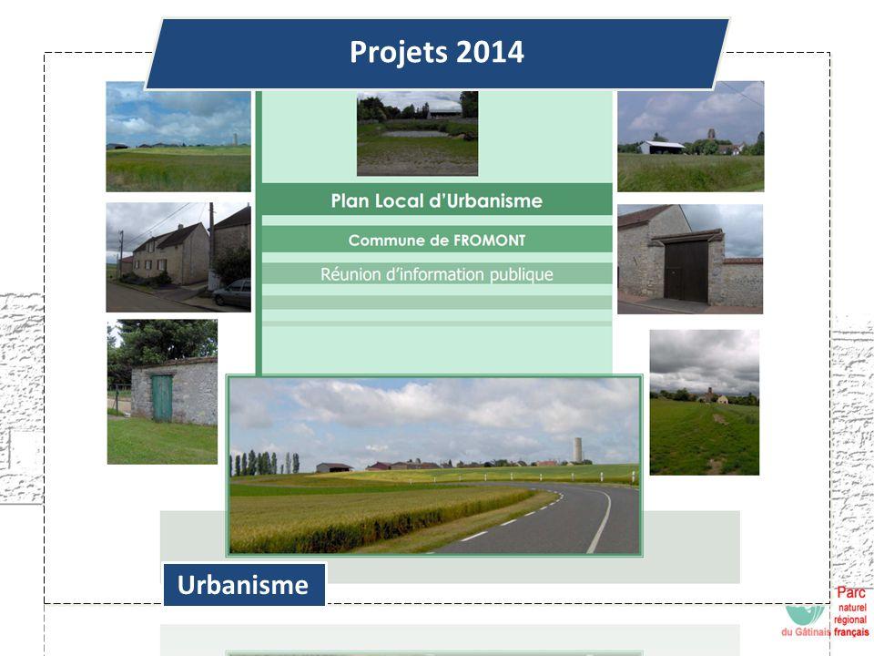Urbanisme Projets 2014