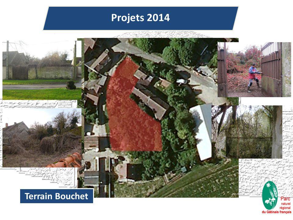 Terrain Bouchet Projets 2014