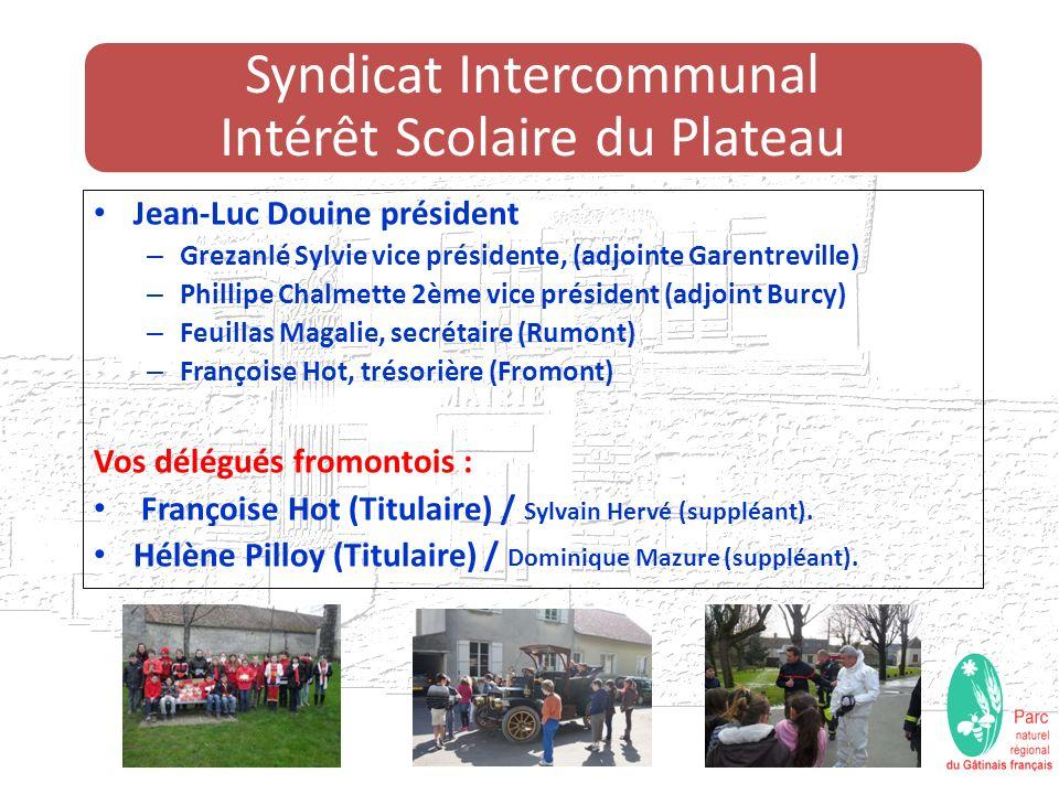 7 Communes forment le syndicat Fromont, Guercheville, Burcy, Rumont, Garentreville, Larchant et Amponville.