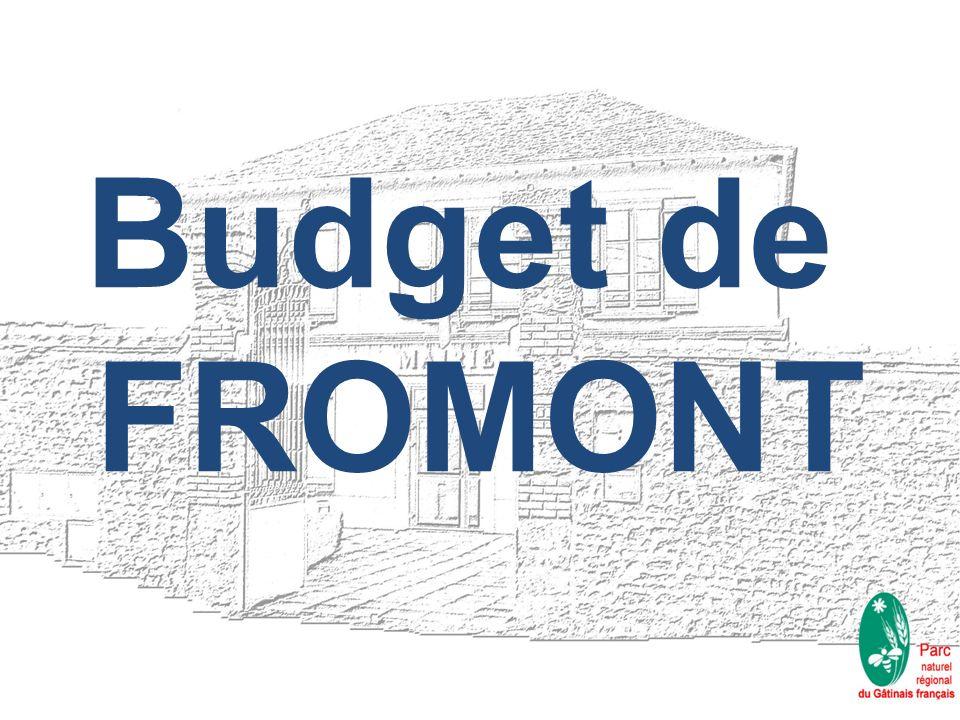 Budget de FROMONT
