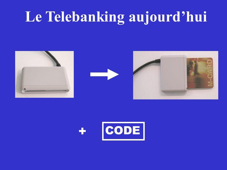 Le Telebanking aujourdhui + CODE