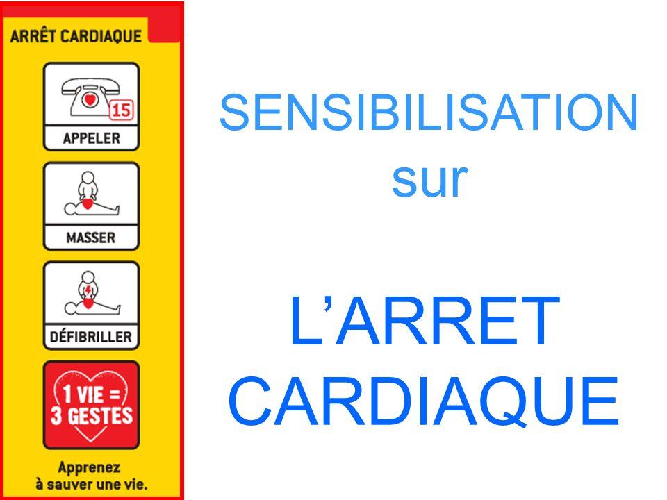 SENSIBILISATION sur LARRET CARDIAQUE