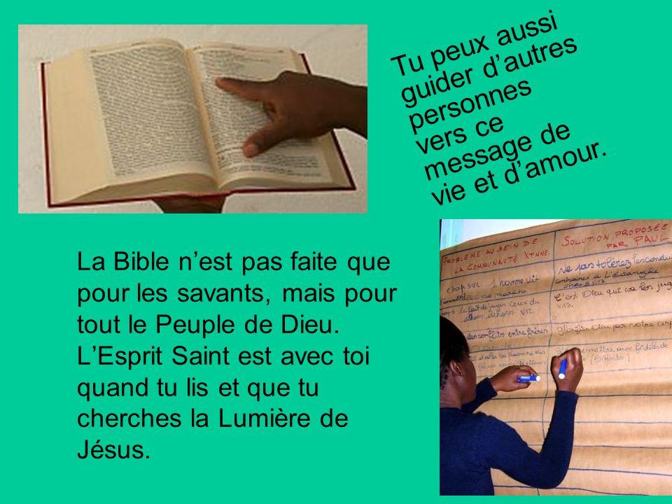 Lire la Bible ensemble est le meilleur moyen pour tout comprendre: Cherchez le Seigneur, tant qu Il se laisse trouver, invoque-le tant qu Il est proch