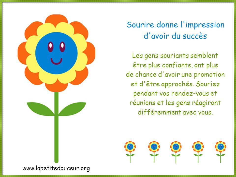 Sourire conserve la jeunesse Sourire donne un lifting naturel et rend plus jeune. Les muscles utilisés pour sourire dissipent les rides et rendent plu
