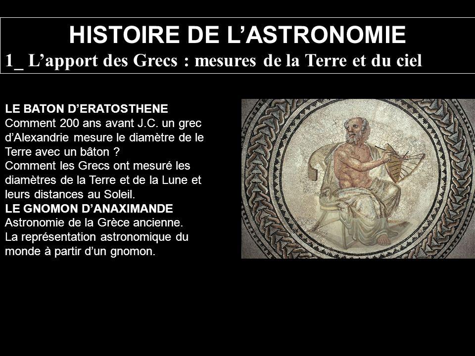 LE BATON DERATOSTHENE Comment 200 ans avant J.C. un grec dAlexandrie mesure le diamètre de le Terre avec un bâton ? Comment les Grecs ont mesuré les d