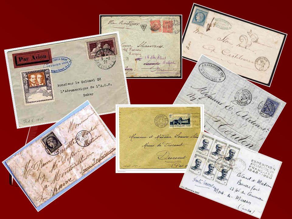 Correspondance sous enveloppe Les premières enveloppes de correspondance, réalisées à la main, sont apparues en France au XVIIe siècle. Cependant, ell
