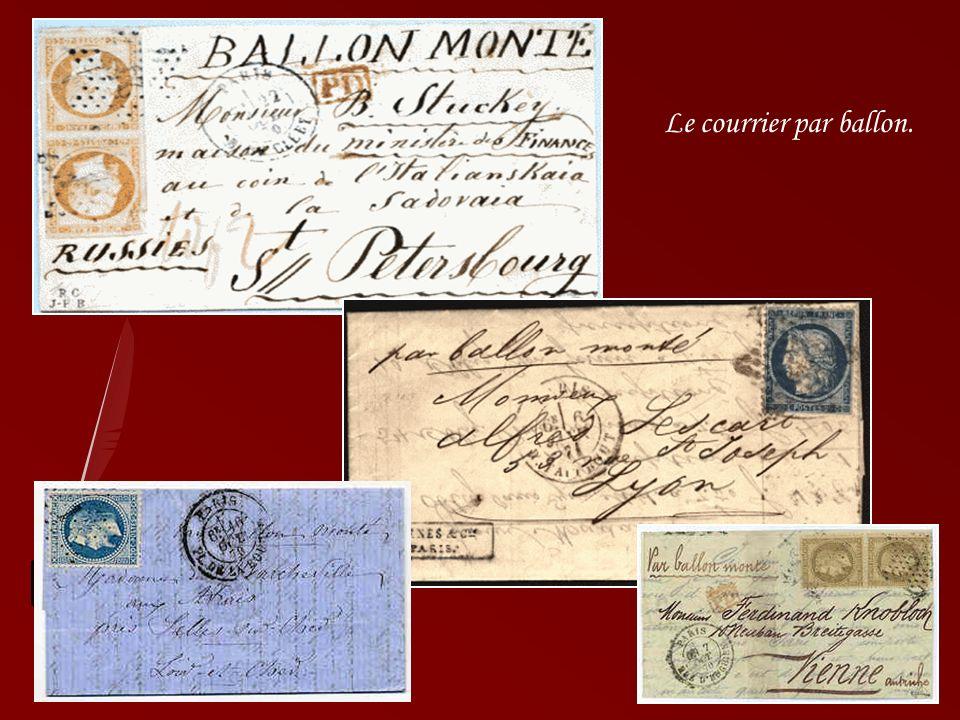 En 1870, la guerre franco-prussienne fait rage. Durant les 136 jours du siège de Paris, sur les soixante-cinq ballons qui quittèrent le sol de la capi