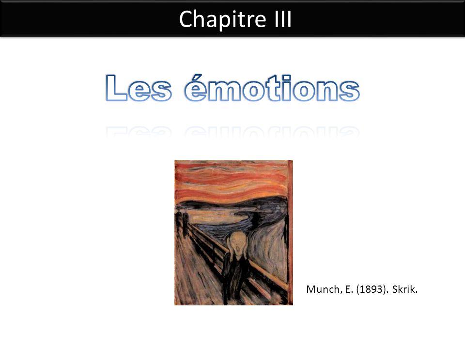 Chapitre III Munch, E. (1893). Skrik.