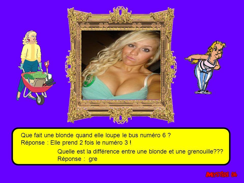 Comment une blonde fait-elle pour augmenter ses chances de gagner au loto .