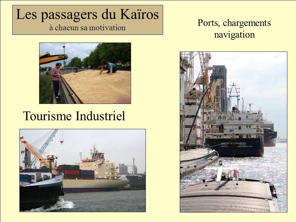 Les passagers du Kaïros 2 Tourisme Industriel Ports, chargements navigation Les passagers du Kaïros à chacun sa motivation
