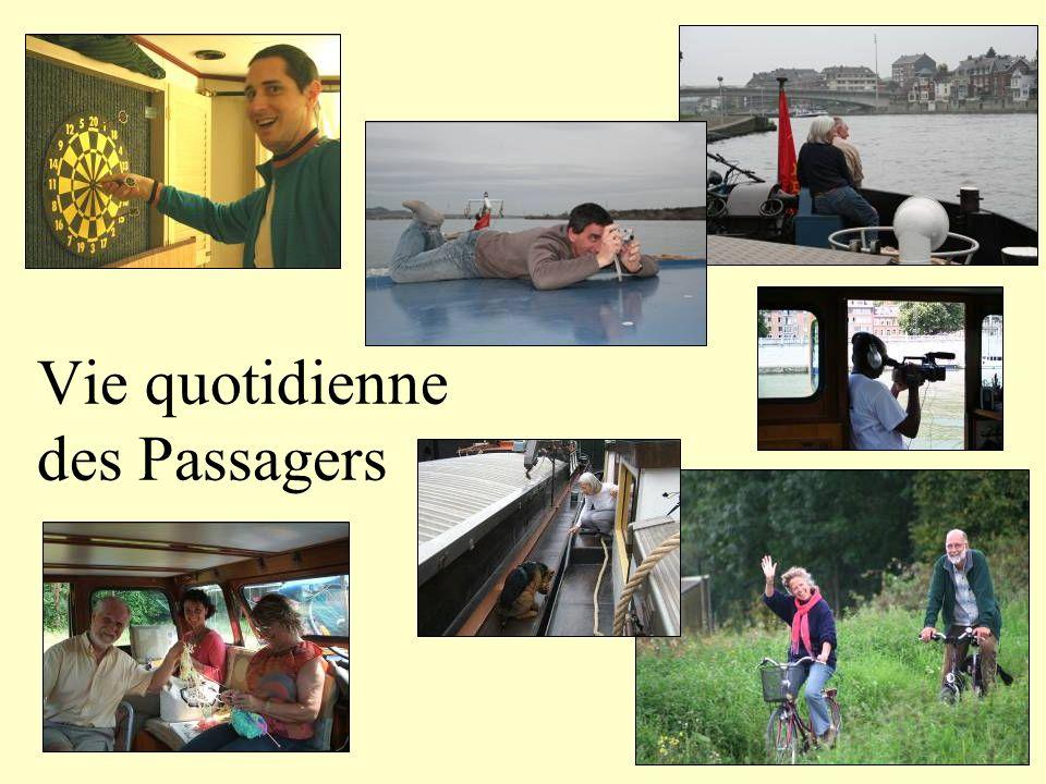 Vie quotidienne des Passagers