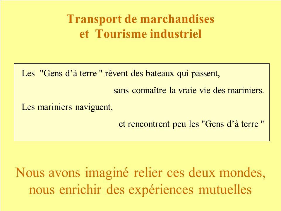 Nos deux activités Séjours en Cabines dHôtesTransports de marchandises &
