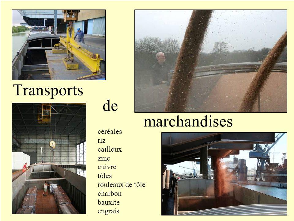 Notre Zone de navigation Seul le bateau de type Freycinet permet de transporter des marchandises du nord au sud de la France, en empruntant les petits canaux