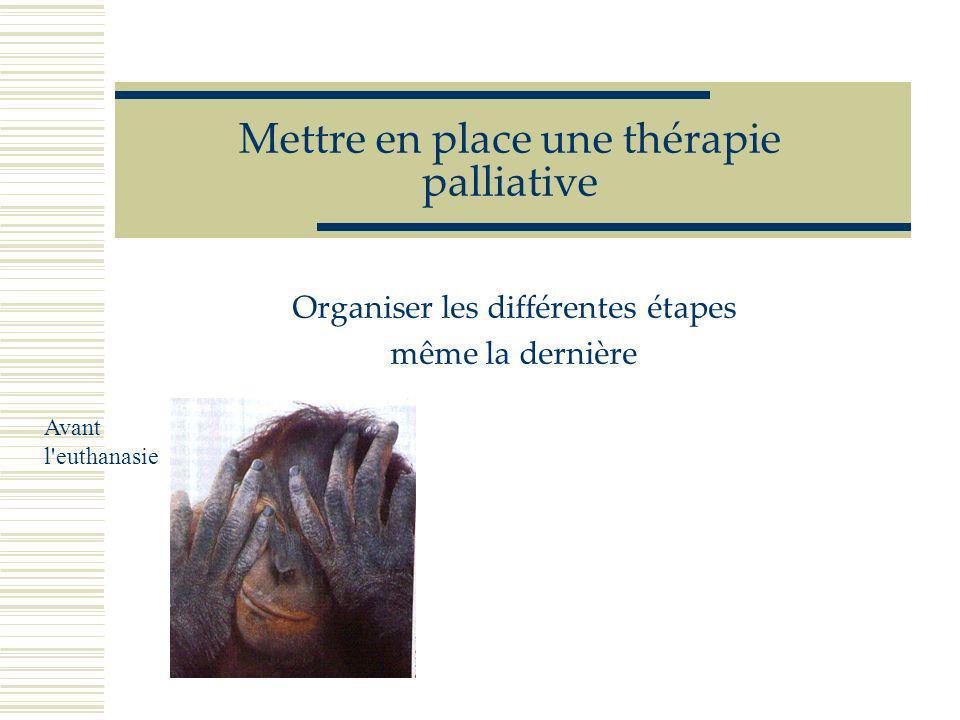 G Muller Rennes 2005 Refuser l'euthanasie Le praticien ou le propriétaire est en droit de refuser une euthanasie Ce refus se justifie et ne doit pas c