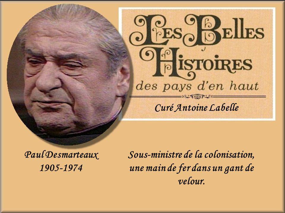 Yves Corbeil Elzéar (Boulé) Fourchu Bûcheron, mais il doit revenir sur la terre pour aider son père malade.