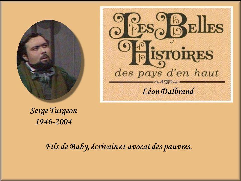 Paul Guèvremont 1902-1979 Le mendiant de la nuit Il a joué le rôle du frère du curé Raudin et Joseph Déodat Poudrier le frère aîné de Séraphin. Seul l