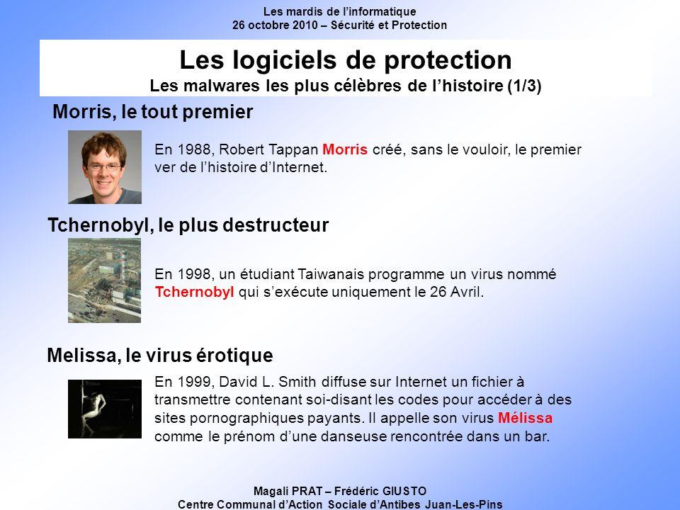 Les mardis de linformatique 26 octobre 2010 – Sécurité et Protection Magali PRAT – Frédéric GIUSTO Centre Communal dAction Sociale dAntibes Juan-Les-Pins Attention .