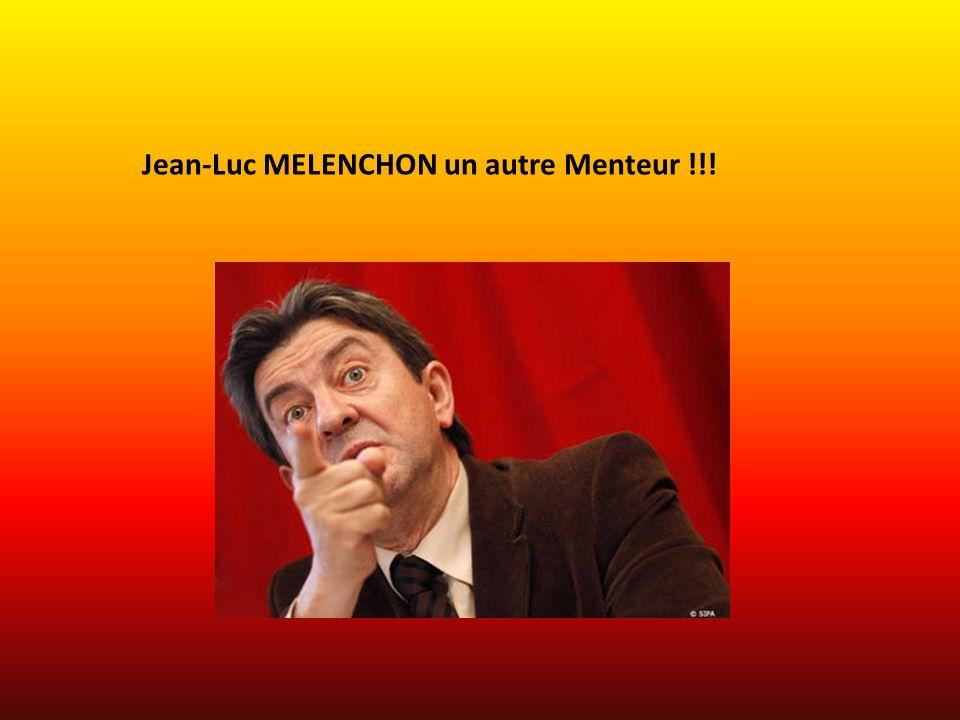 Le Pauvre Mélenchon qui essaye de parler au Peuple !!.