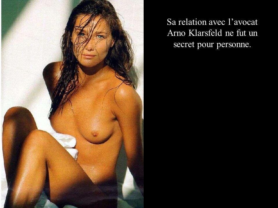 Sa relation avec lavocat Arno Klarsfeld ne fut un secret pour personne.