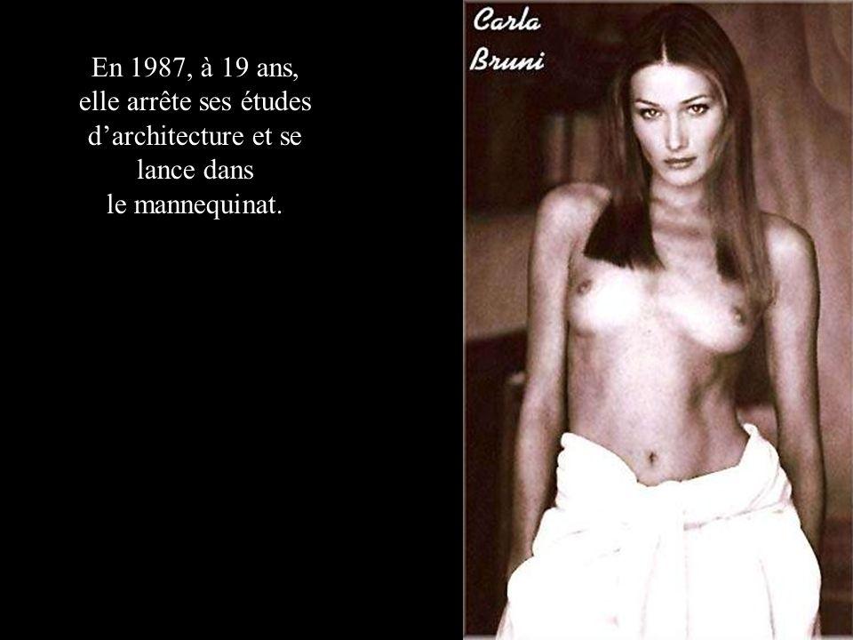 En 1987, à 19 ans, elle arrête ses études darchitecture et se lance dans le mannequinat.