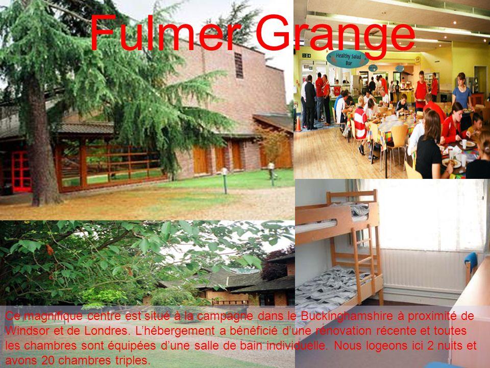 Fulmer Grange Ce magnifique centre est situé à la campagne dans le Buckinghamshire à proximité de Windsor et de Londres. Lhébergement a bénéficié dune