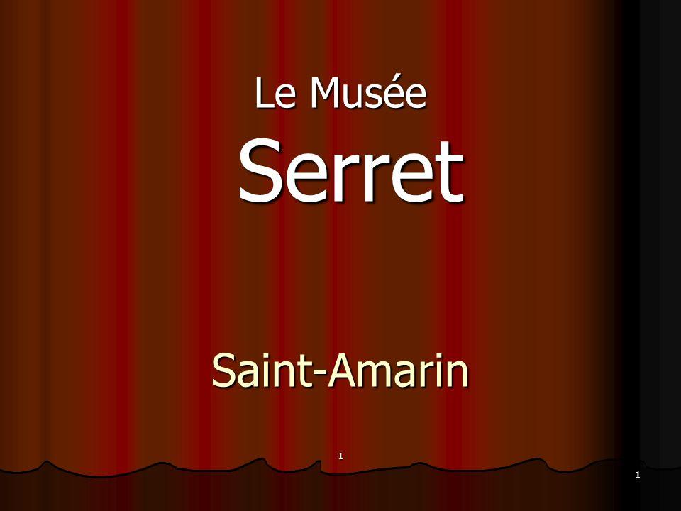 1 Le Musée Serret SerretSaint-Amarin1