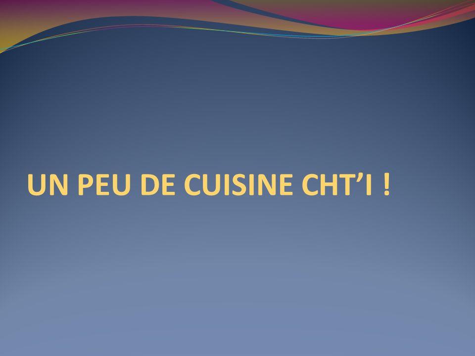 UN PEU DE CUISINE CHTI !