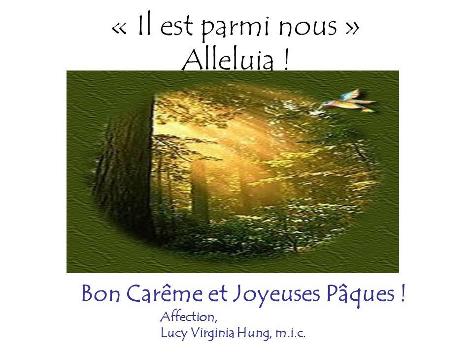 La pierre a été enlevée du tombeau … Jésus est ressuscité : il nest pas ici`» Alleluia ! Joyeuses Pâques !