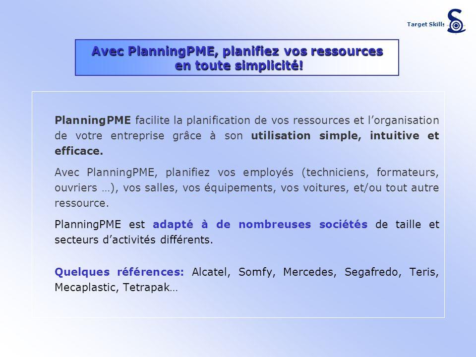 Avec PlanningPME, planifiez vos ressources en toute simplicité! PlanningPME facilite la planification de vos ressources et lorganisation de votre entr