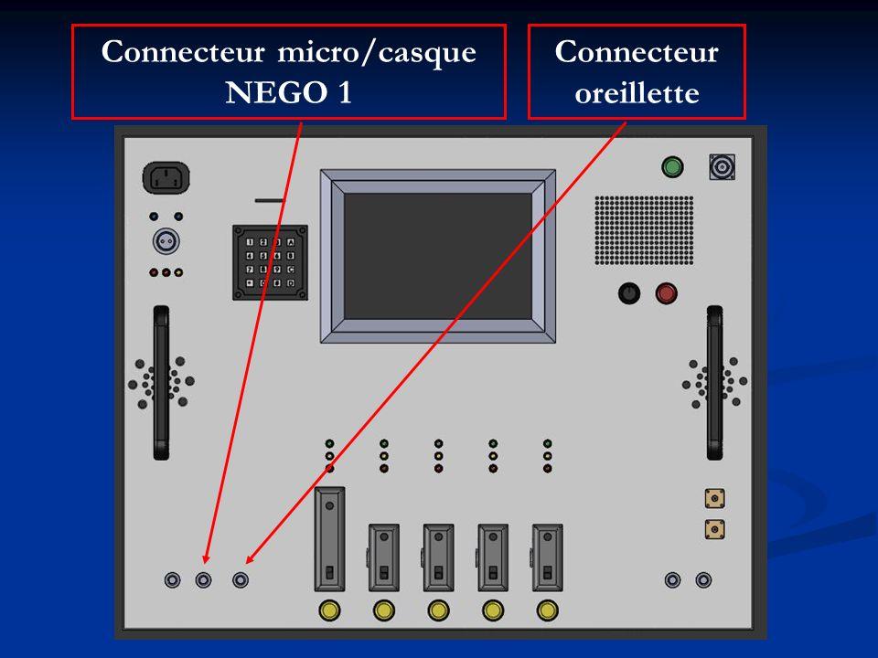 Connecteur micro/casque NEGO 1 Connecteur oreillette