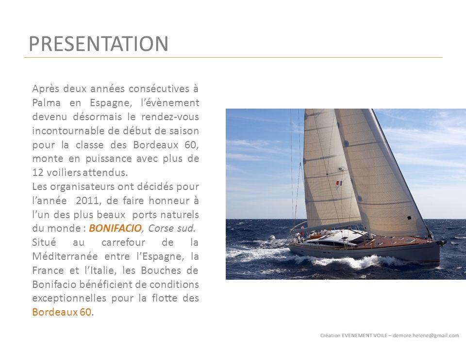 PRESENTATION Après deux années consécutives à Palma en Espagne, lévènement devenu désormais le rendez-vous incontournable de début de saison pour la classe des Bordeaux 60, monte en puissance avec plus de 12 voiliers attendus.