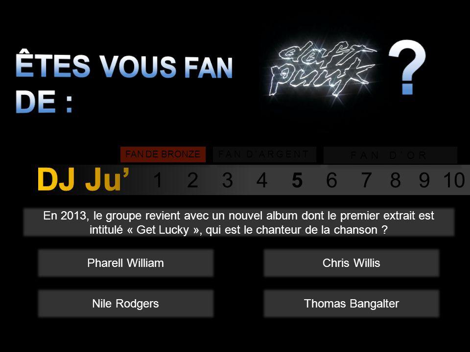 1 2 3 4 5 6 7 8 9 10 Pour quel film, le groupe Daft Punk à til écrit la bande originale en 2009 .