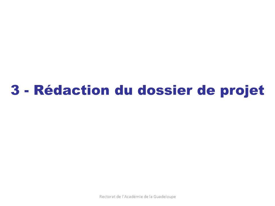 Rectorat de l Académie de la Guadeloupe Sur le site http://pedagogie.ac-guadeloupe.fr/http://pedagogie.ac-guadeloupe.fr/ Rubrique « Arts et culture / Dossiers de projets » Pour remplir les documents, utilisez au choix : Publisher de Microsoft Office Powerpoint de Microsoft Office Impress de Open Office Télécharger les pièces du dossier Remplir les documents téléchargés en format numérique PUIS imprimer un exemplaire