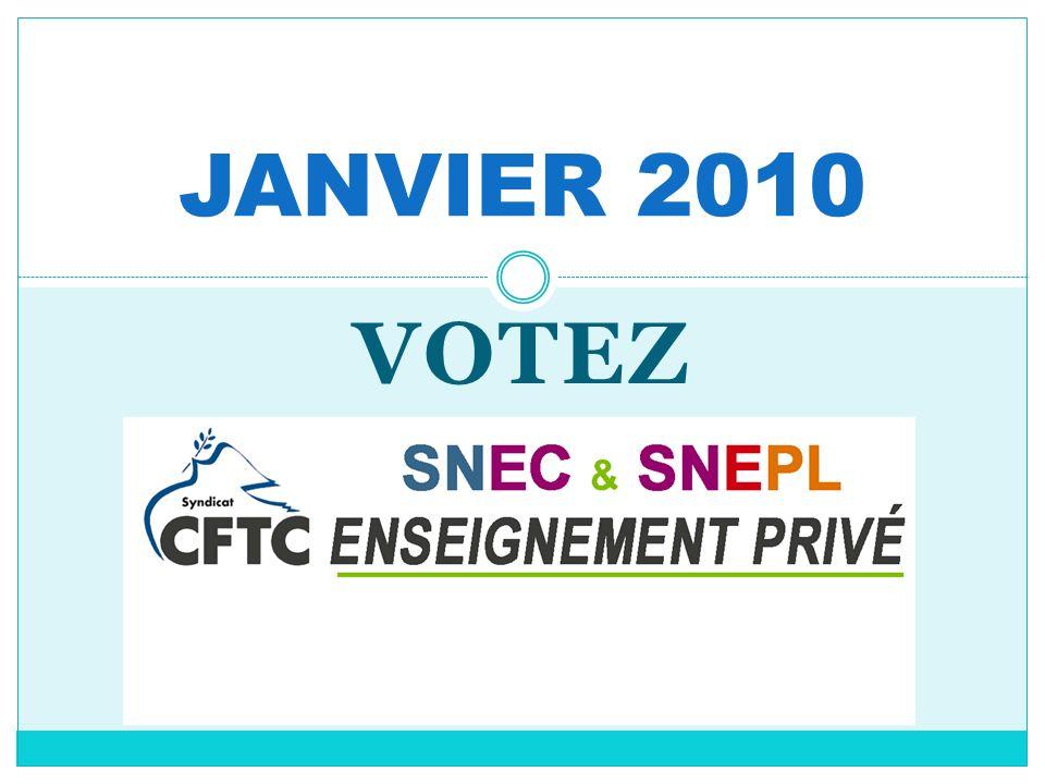 VOTEZ JANVIER 2010