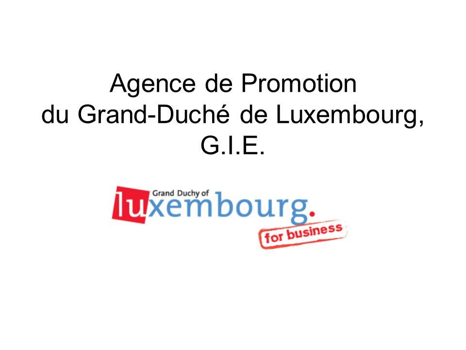 Agence de Promotion du Grand-Duché de Luxembourg, G.I.E.